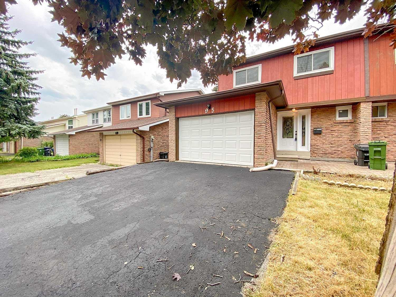 Semi-Detached 2-Storey. 95 Homedale Dr, Scarborough