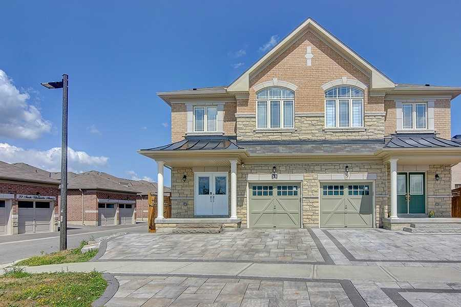 Semi-Detached 2-Storey. 11 Unity Gardens Dr, Markham